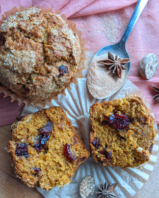 Cranberry Chai Muffins (4 pack)
