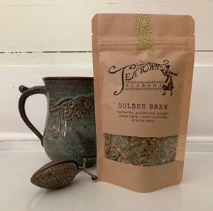 Golden Brew (Sinus Soother) -Loose leaf tea from Tea Town Alabama