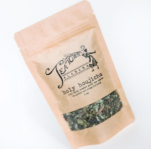 Holy Houjicha Green Tea (Stress Detox) - Loose leaf tea from Tea Town Alabama
