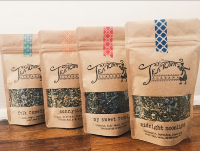 Organic Loose Leaf Tea from Tea Town Alabama