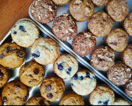 Red Berry Bran Muffins (4 Pack)