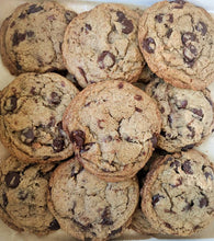 Load image into Gallery viewer, Salted Chocolate Chip Rye Cookies (quantities of 6)