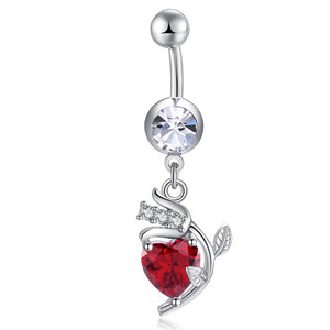 Best Charm Goods Body Piercing Simple Usable Navel Nail Belly Button R Infinite Shop Com