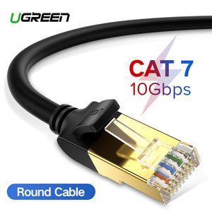 Ugreen 1M-15M Cat 8 RJ45 Ethernet Cable Cat7 Network Cable Patch Cord For Router