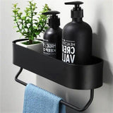 Matte Black Aluminium Shelf