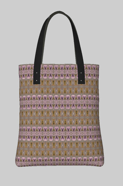 Laces Sunset Moth Tote Bag