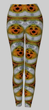 Don't Worry, Be Happy - Sunset Moth Leggings
