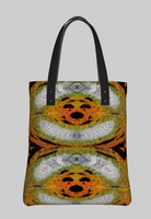 Don't Worry, Be Happy Custom Sunset Moth Tote Bag