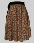 Alpine Swallowtail Wrap Skirt