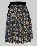 Tiger Swallowtail Wrap Skirt