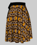 Five Bar Swordtail Wrap Skirt