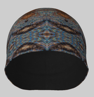 Stained Glass Morpho Beanie