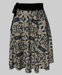 Tiger Swallowtail 2 Wrap Skirt