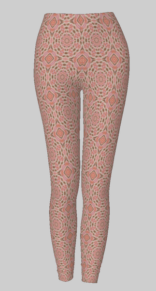 Peacock Butterfly 2 Leggings