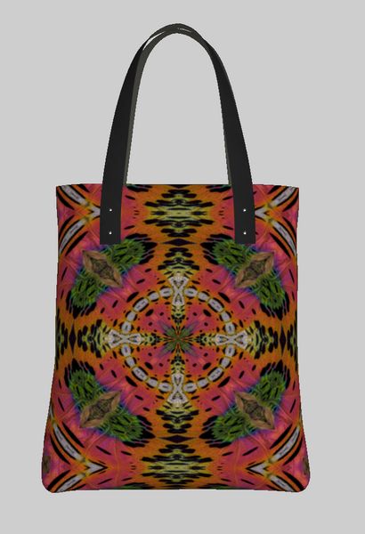 Wheel of color Tote Bag