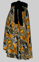 Painted Lady Wrap Skirt