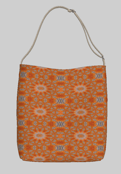 Flaming Sunset Day Tote