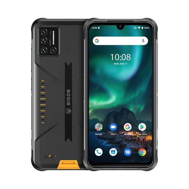 Throw that pansy all-glass phone in the trash, and live a care-free life with the uber-rugged Umidigi Bison!