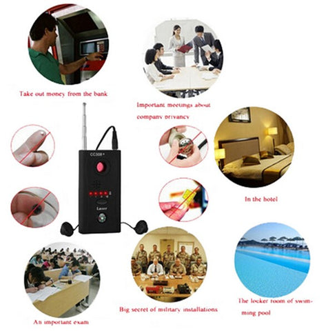 Anti Spy bug Detector or Wireless RF signal Detector