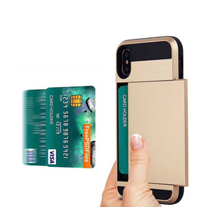 Card Slot iPhone X Case