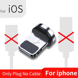 Magnetic Micro USB Cable For iPhone Samsung Android Mobile Phone Fast Charging Type C Cable Magnet Charger Wire Cord - Securgadget Store