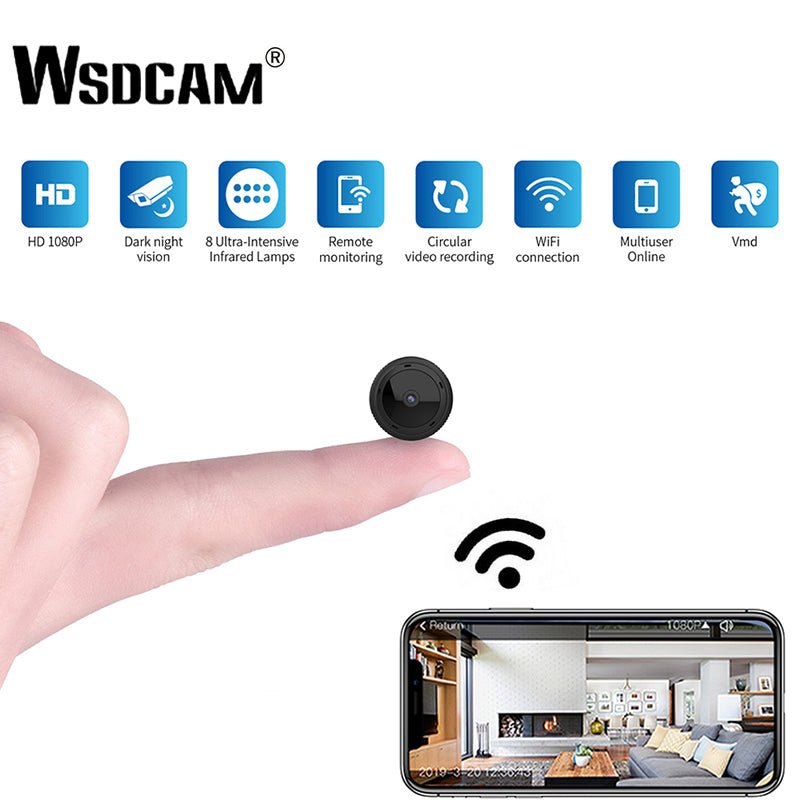Mini WiFi Camera Night Vision Home Security Motion Detection Baby Monitor - Securgadget Store