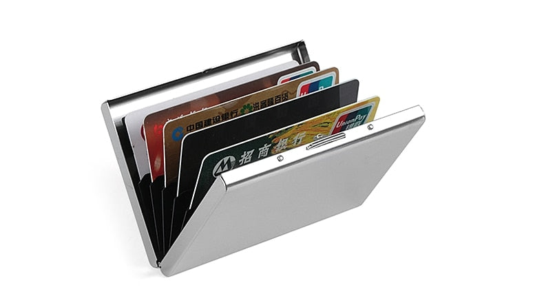 Mirror RFID Blocking Wallet Case for Women and Men - Securgadget Store