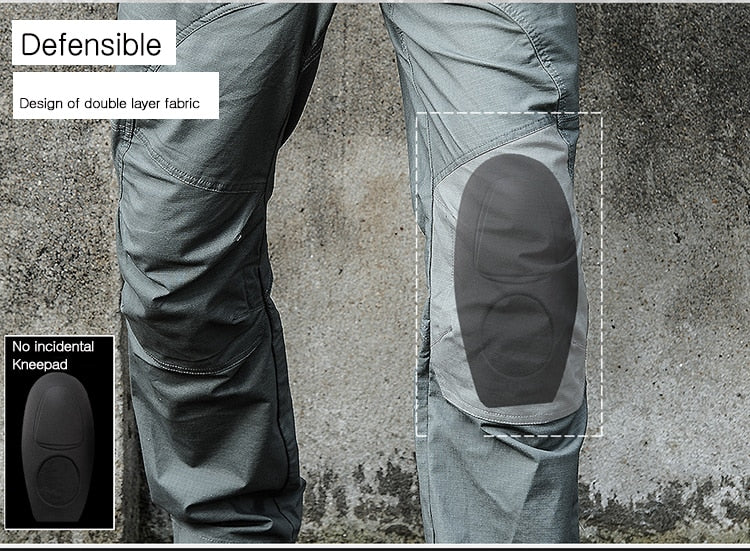 Waterproof Tactical Cargo Pants Cotton Trousers - Securgadget Store