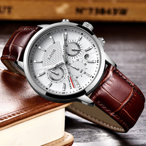 Men Watches - Luxury Brand Waterproof Sport Watch - Chronograph Quartz Military-SecurGadget.com