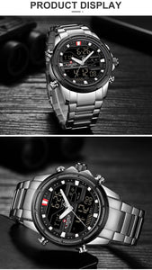 Men Watches Top Luxury Brand Men Sports Watches Quartz LED Digital Wrist Watch - Securgadget Store