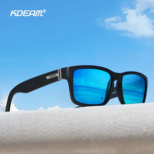 Sport Men Sunglasses Polarized Shocking Colors Outdoor Driving Photochromic Sunglass With Box - Securgadget Store