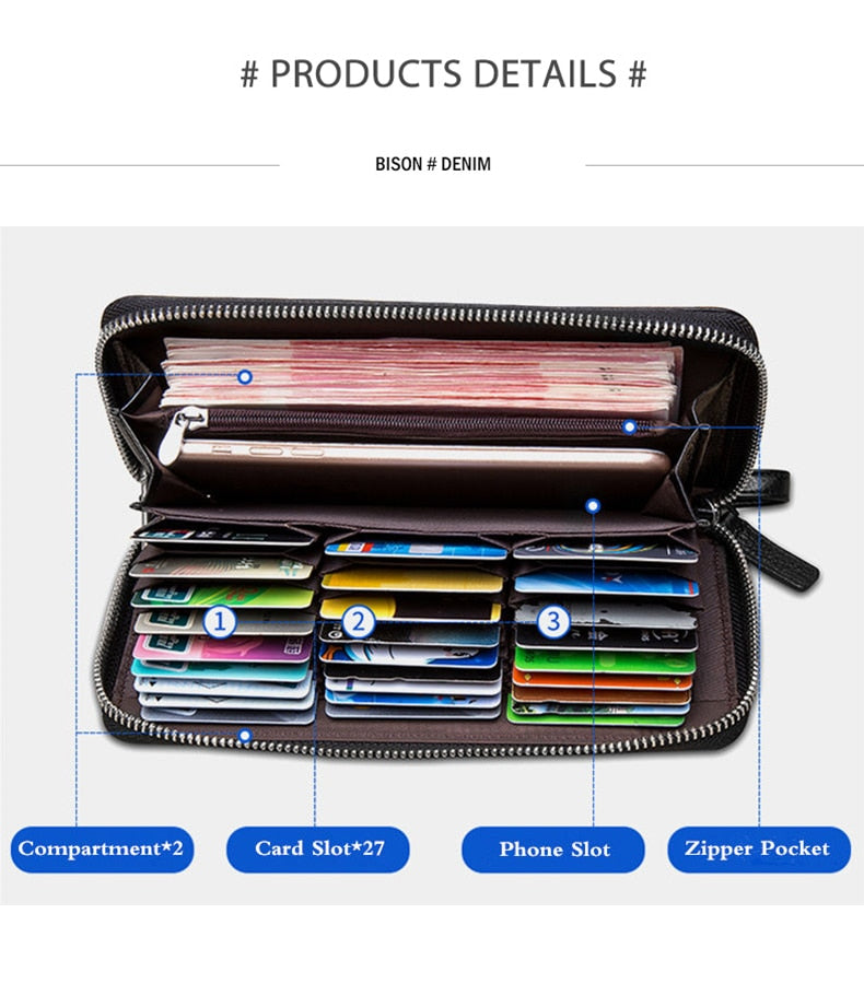 RFID Blocking Leather Wallet - Securgadget Store