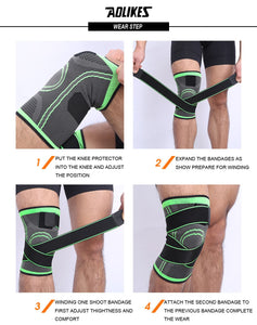 Knee Support Breathable Bandage Knee Brace - Securgadget Store