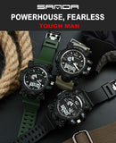 New S Shock Men Sports Watches Big Dial LED Digital Military Waterproof Wrist Watches - Securgadget Store