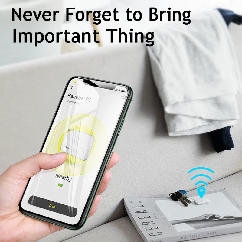 Wireless Smart Tracker Anti-lost Alarm with GPS Locator - Securgadget Store