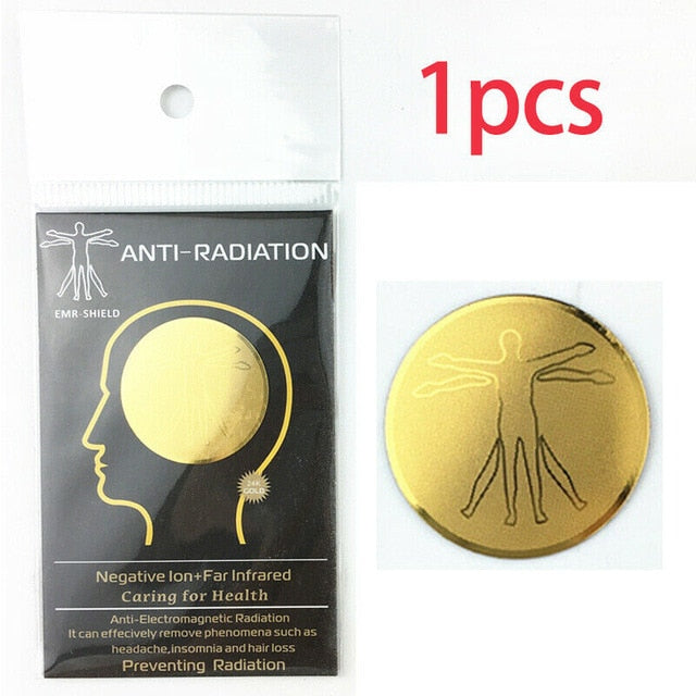 Anti Radiation Protector Shield - EMF Protection Cell Phone Sticker - EMR Blocker-SecurGadget.com