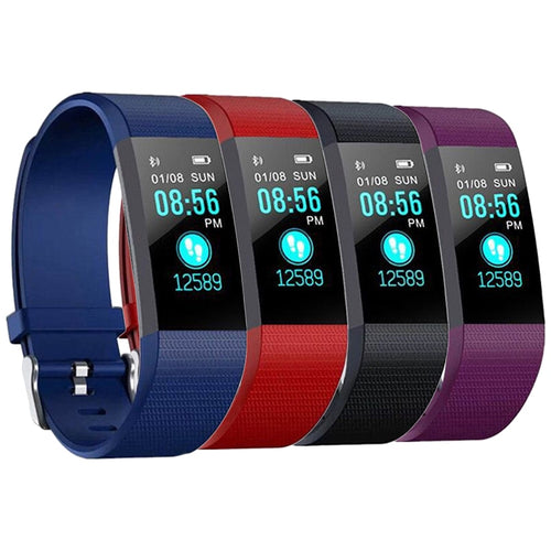 Sports Health Wristband Bracelet Bluetooth Smart Watch - Global Version-SecurGadget.com