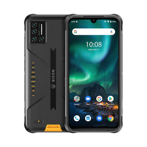 "Rugged Phone IP68/IP69K Waterproof - 48MP Matrix Quad Camera 6.3"" FHD+ Display - 6GB+128GB NFC Android 10 Smartphone-SecurGadget.com"