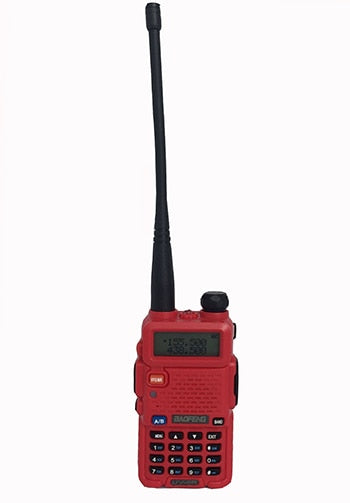 walkie talkies red