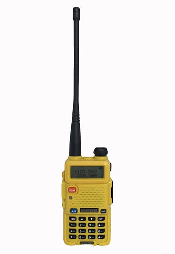 walkie talkies yellow