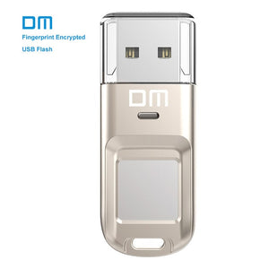 DM PD065 High-speed USB Flash Drive Recognition Fingerprint Encrypted Usb stick 32GB 64GB Pen Drive Security Memory usb 2.0 disk - Securgadget Store