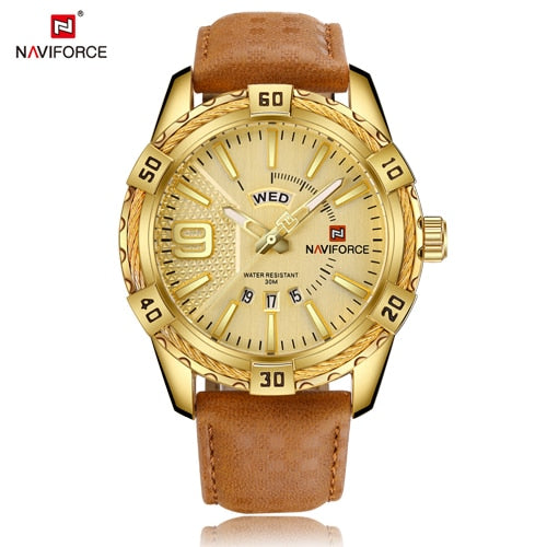 NAVIFORCE Top Luxury Brand Men Quartz Army Military Watches