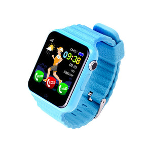 Blue GPS Tracker for Children.