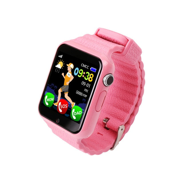 Pink GPS Tracker for Children.