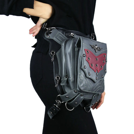 Punk multi-functional one-shoulder slant sport cycling Waist Bag