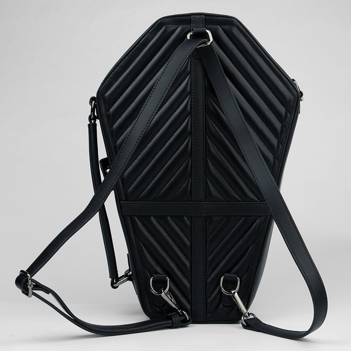 Think Of Skull King Punk Backpack