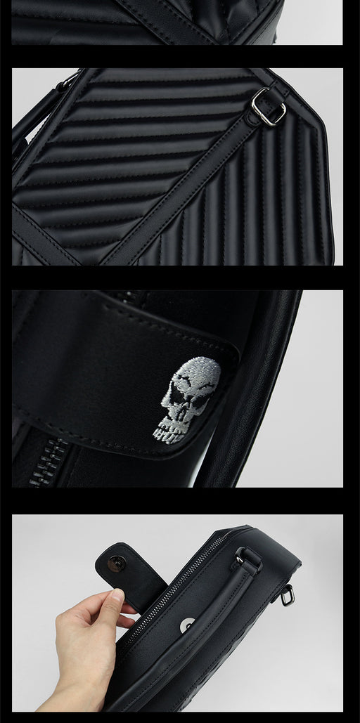 Skull Talk To Your Soul Punk Backpack