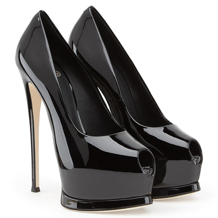 Gothic Fish-mouth high heels for women