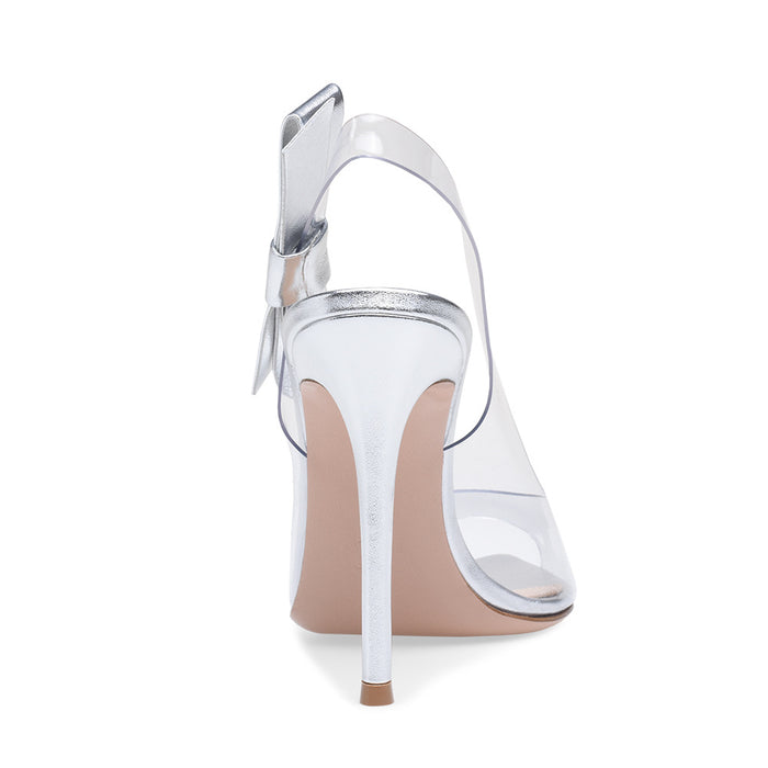 Pastel Gothic Lolita Plus-size sandals with open-toed stiletto heels