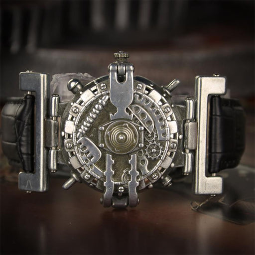 Steampunk unisex quartz watches